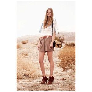 CLUB MONACO Sheer Stripe Christine Silk Shirt sz S